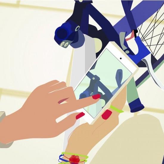 Ilustración bici