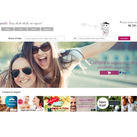 Diseño web Aimfri
